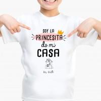 camiseta niña personalizada