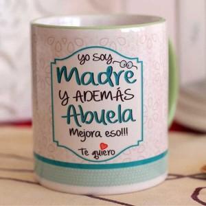 """Taza de regalo abuela """"Madre y Abuela"""""""
