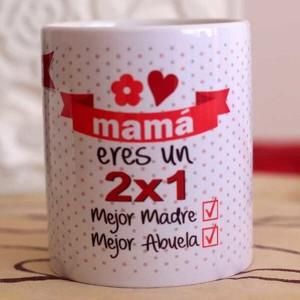 "Taza regalo MAMÁ ""Oferta 2x1"""