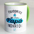 "Taza regalo ""Papá Novato"""